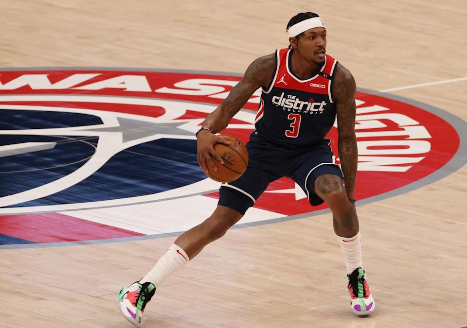 Bradley Beal with the ball