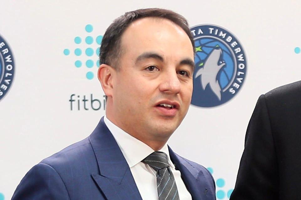 The Timberwolves fired president of basketball operations Gersson Rosas on Wednesday.